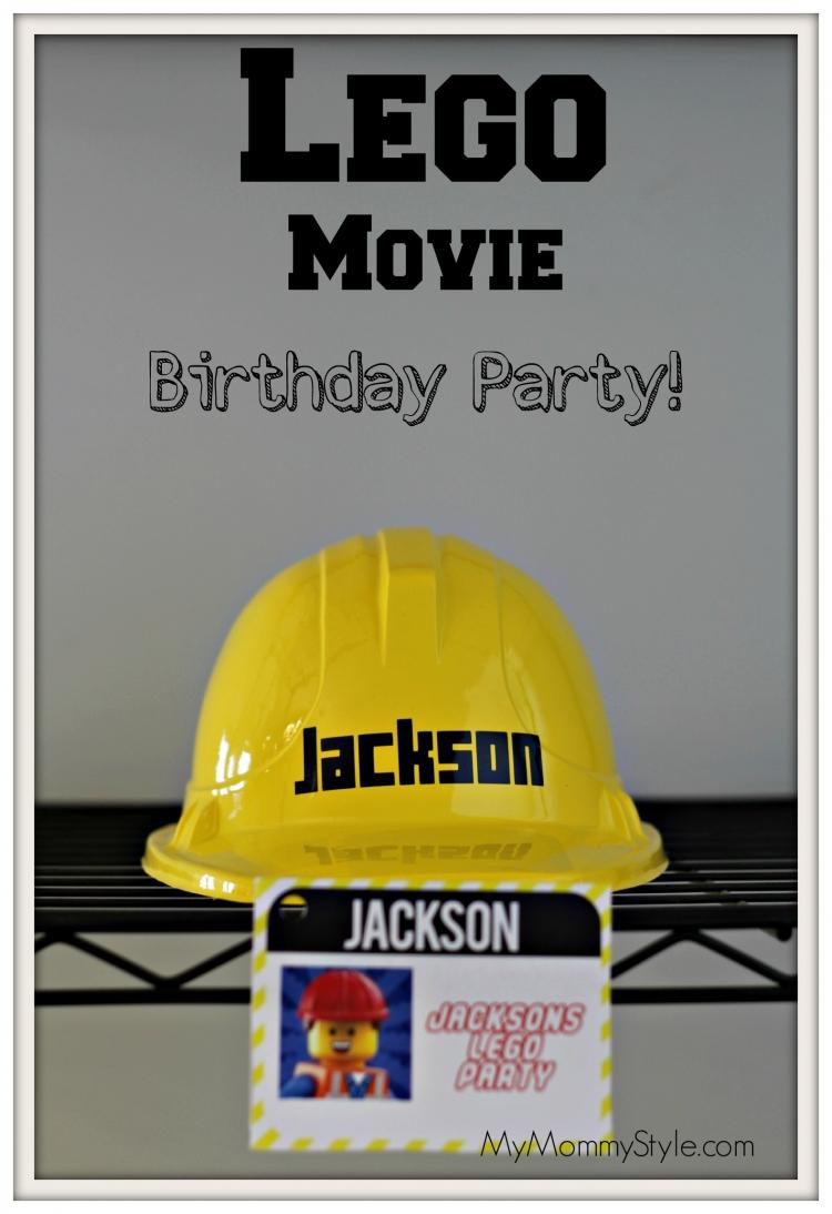 Lego Movie Birthday Party My Mommy Style