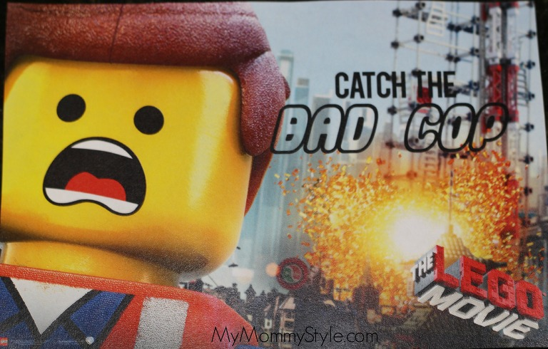 Lego Party, lego movie birthday party, catch the bad cop, lego games