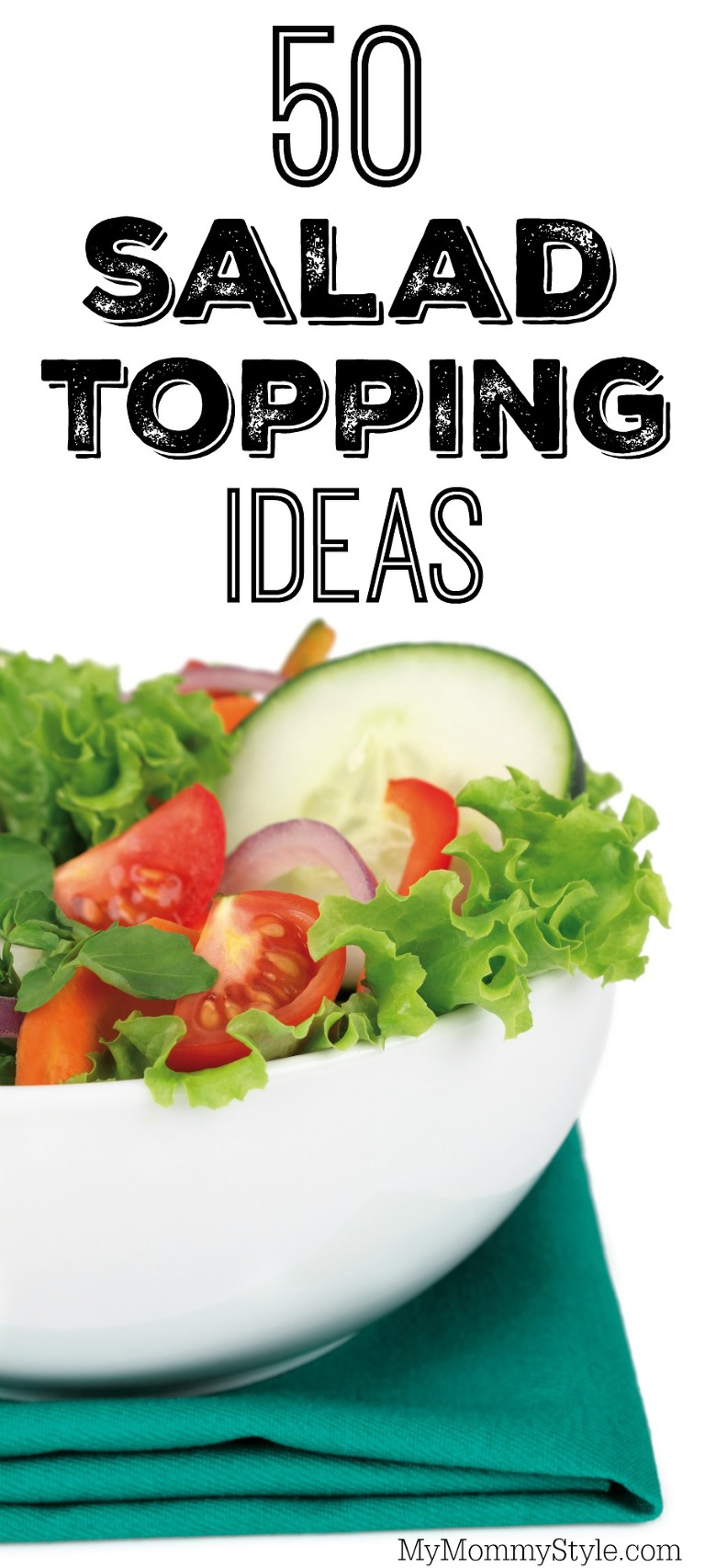 50 salad topping ideas