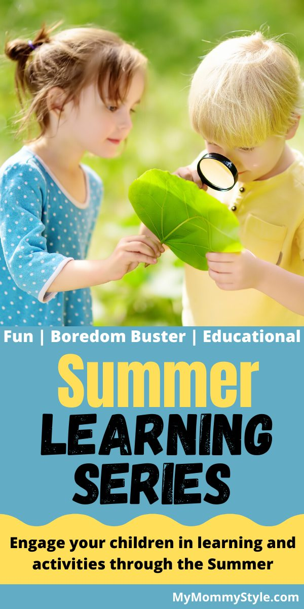 Engage your children in learning and activities through the Summer via @mymommystyle
