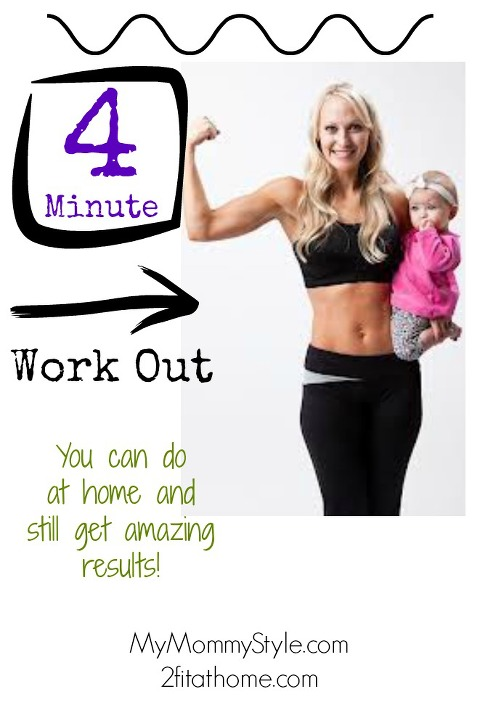 4 minute workout, fit2fat2fit.com, drew manning, lynn manning, mymommystyle.com