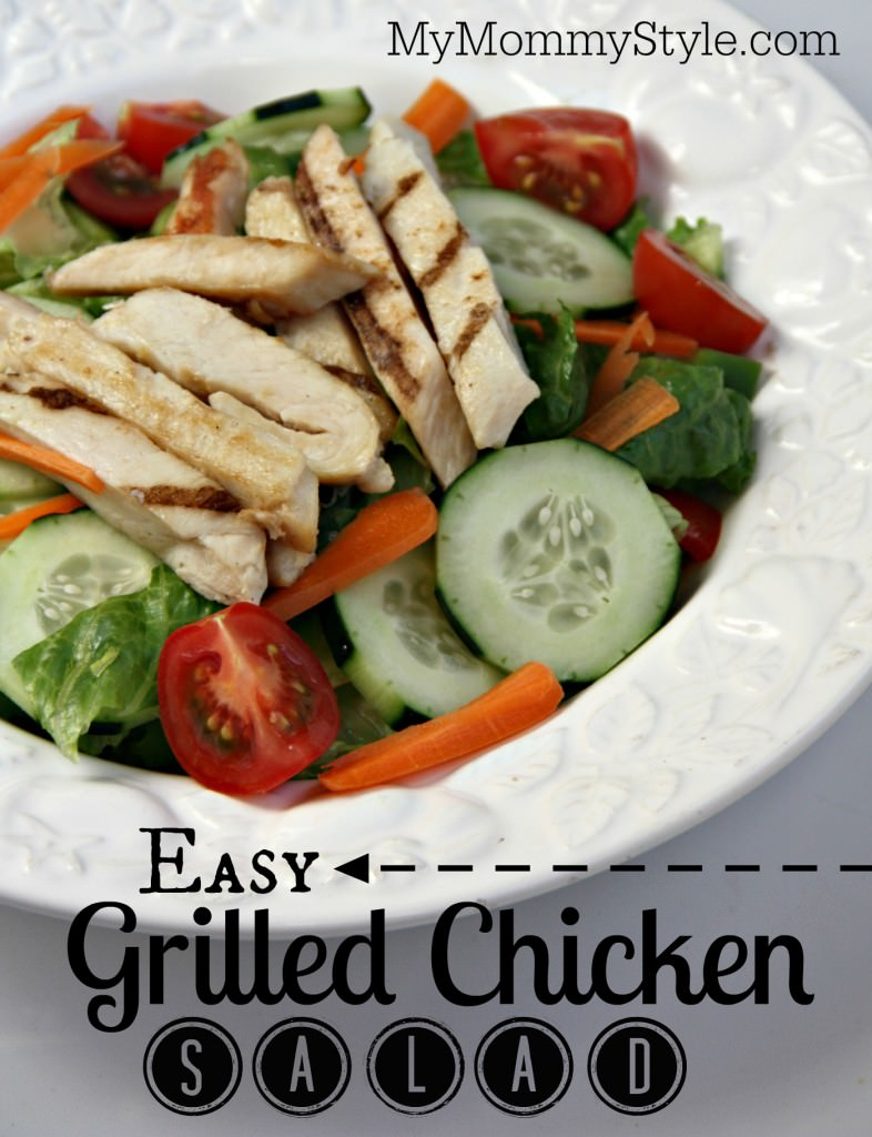 Easy Grilled Chicken Salad My Mommy Style