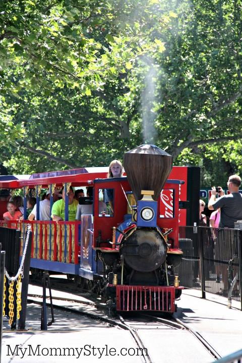 Summer Learning series steam train