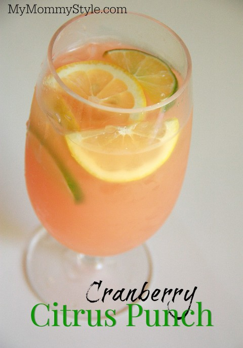 cranberry citrus punch