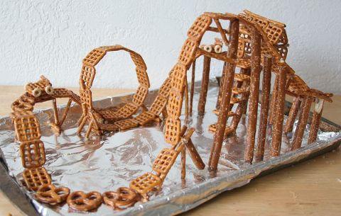pretzel roller coaster
