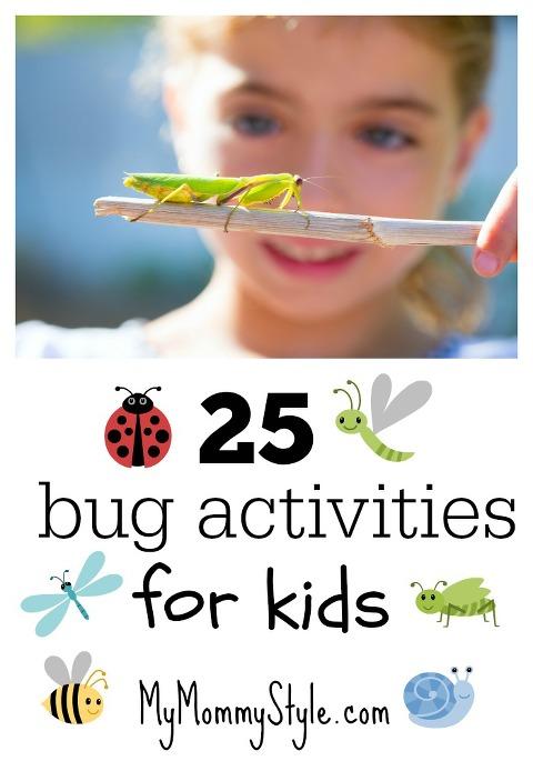 25 activites bug activities for kids