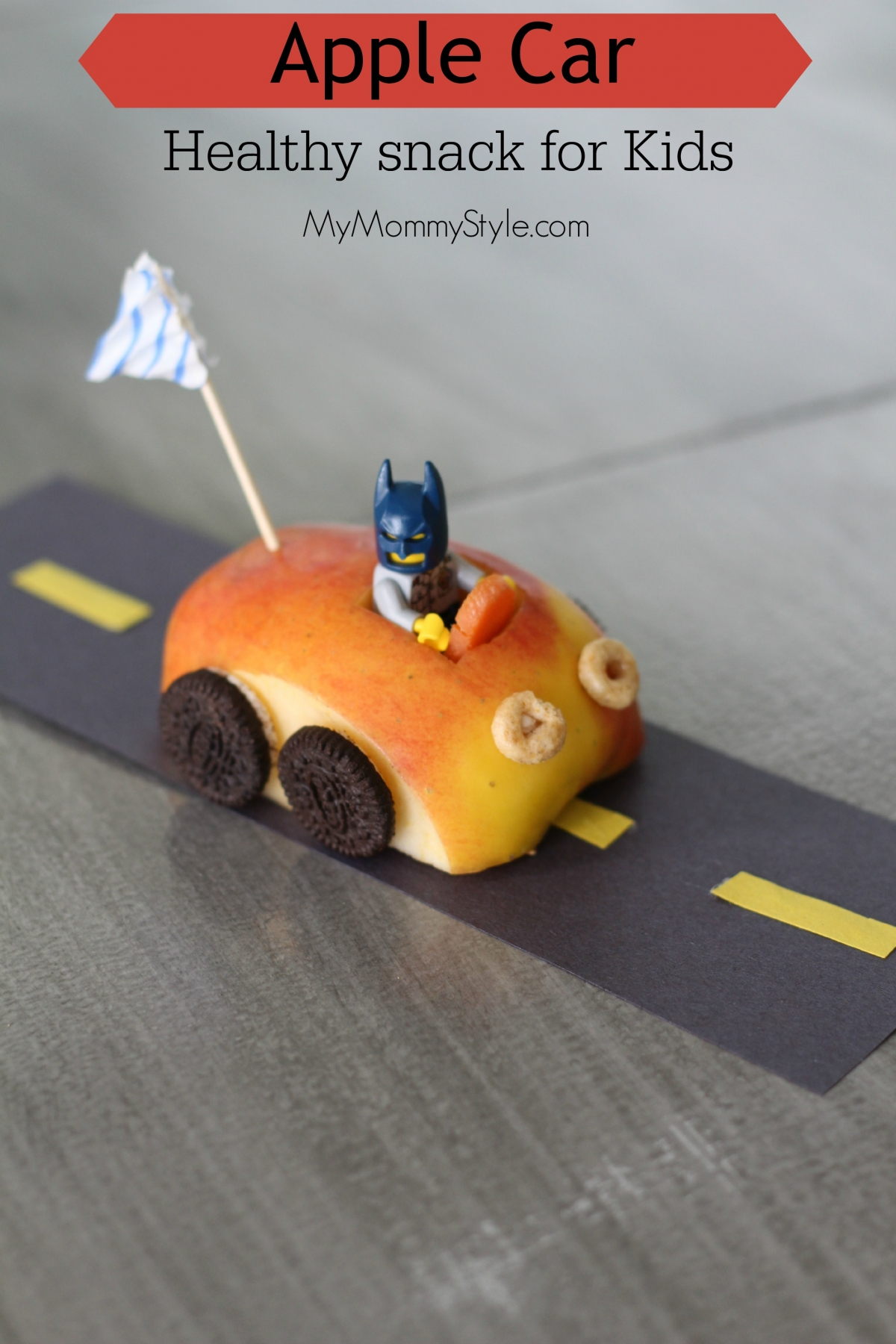 apple car healthy snack for kids mymommystylecom