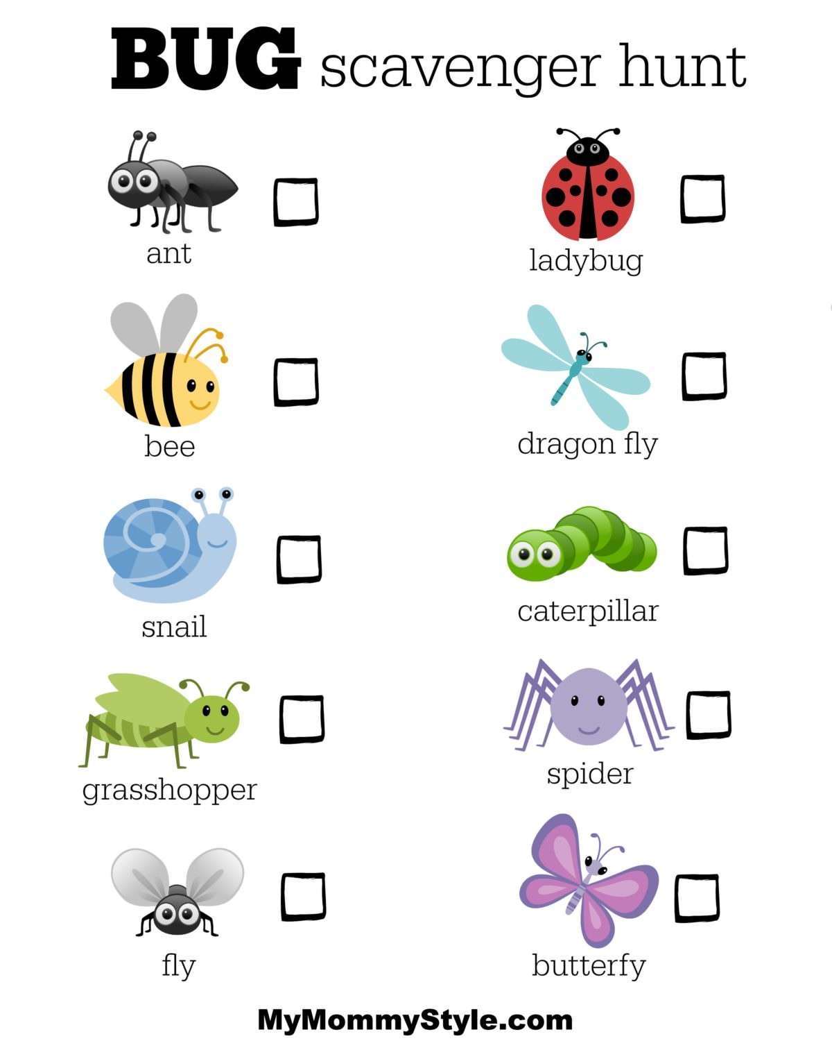 25 Bug Activities For Kids My Mommy Style