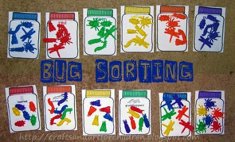 bug sorting game