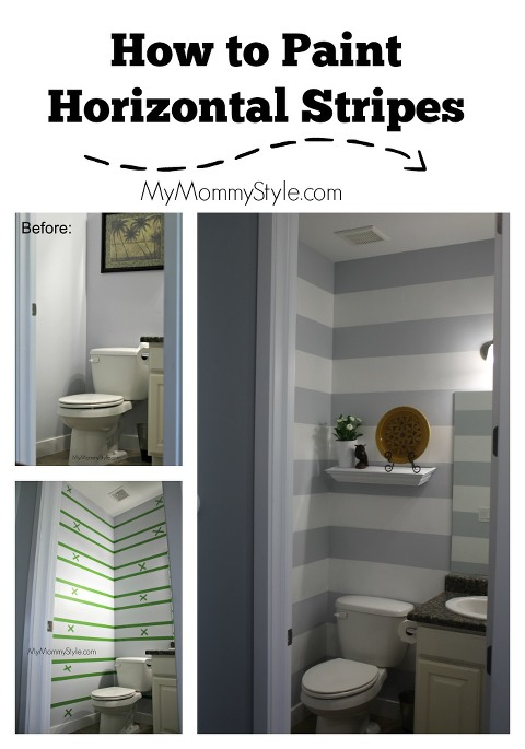 How To Paint Horizontal Stripes My