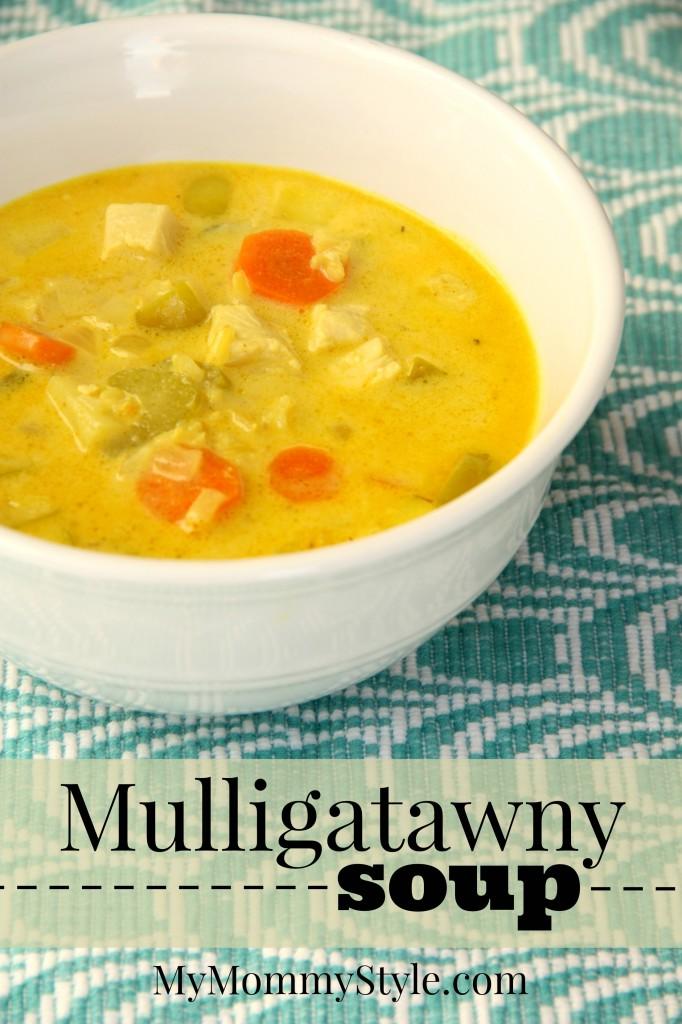 Mulligatawny soup - My Mommy Style