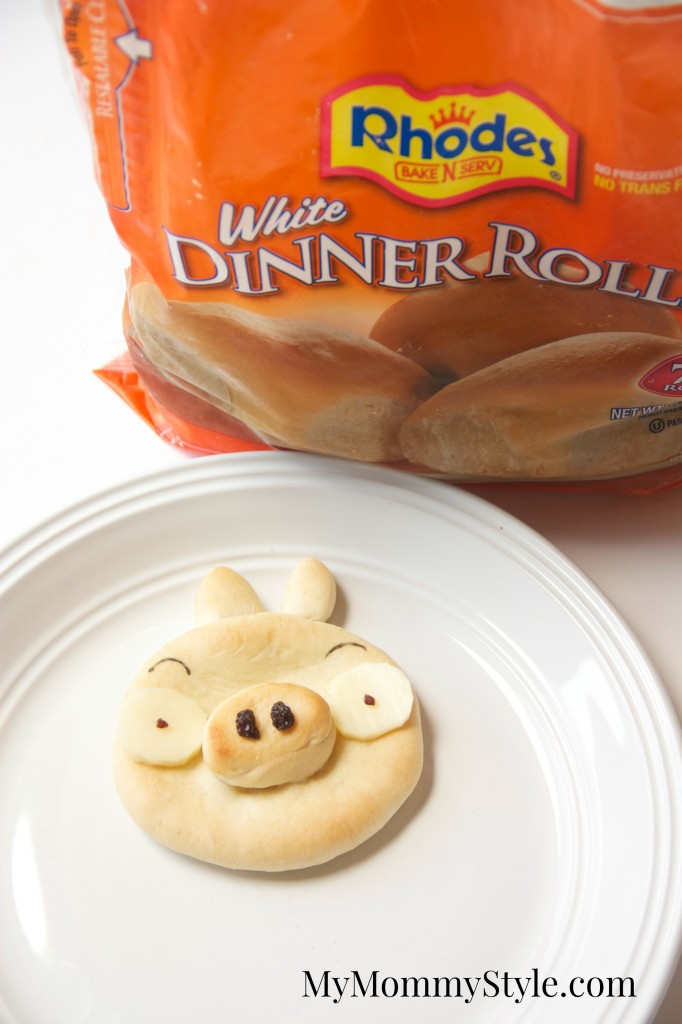 angry bird pig roll