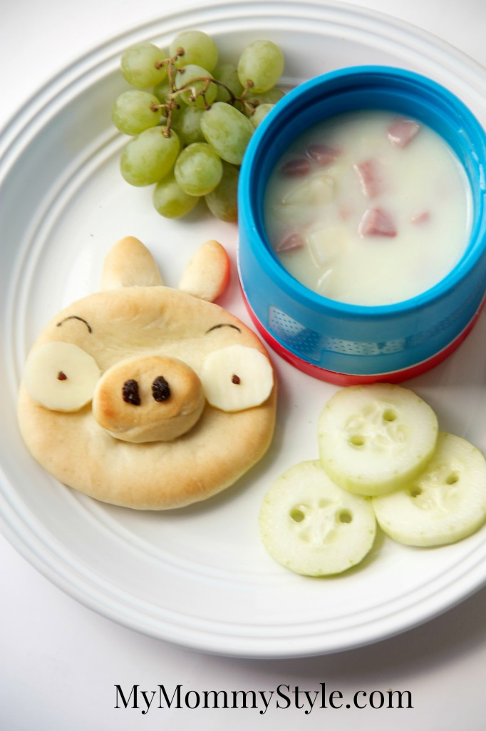 angry bird pig rolls lunch