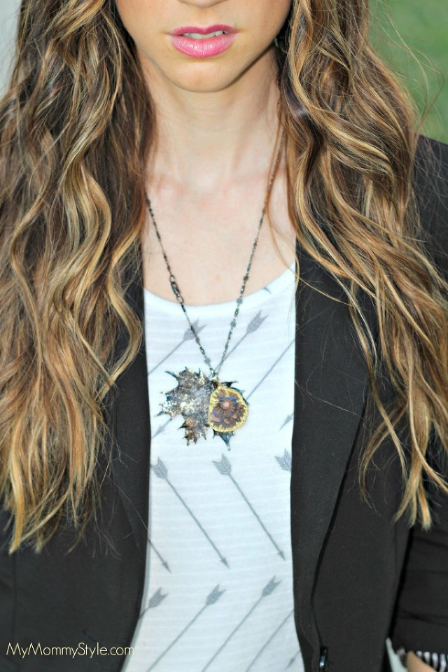 fall fashion, arrows, mymommystyle, ombre hair, brunette