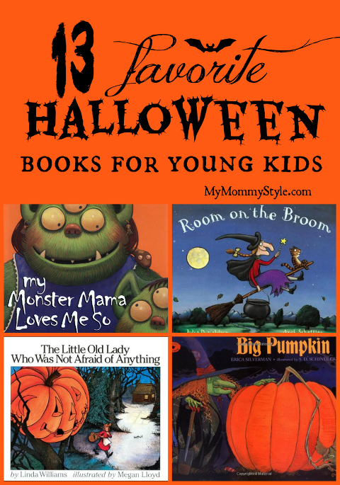 13 Favorite Halloween Books for Young Kids