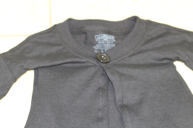 Black Harry Potter Robe with button.