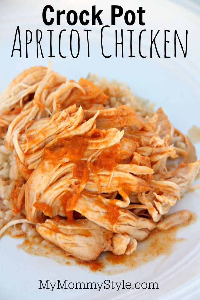 Crock Pot Apricot Chicken - My Mommy Style