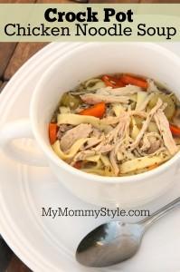 Crock Pot Chicken Noodle Soup