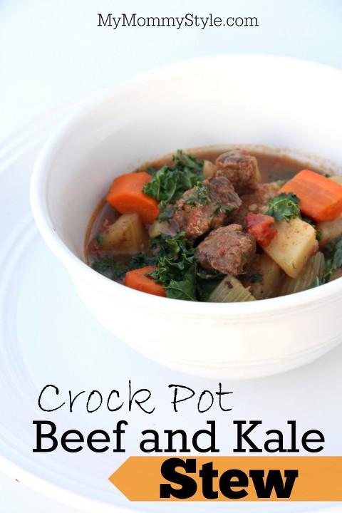 Crock Pot Beef and Kale Stew