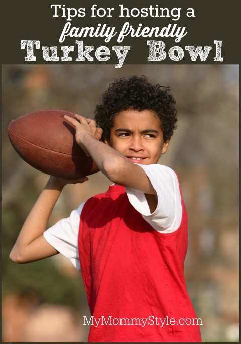 tips for hosting a family friendly turkey bowl