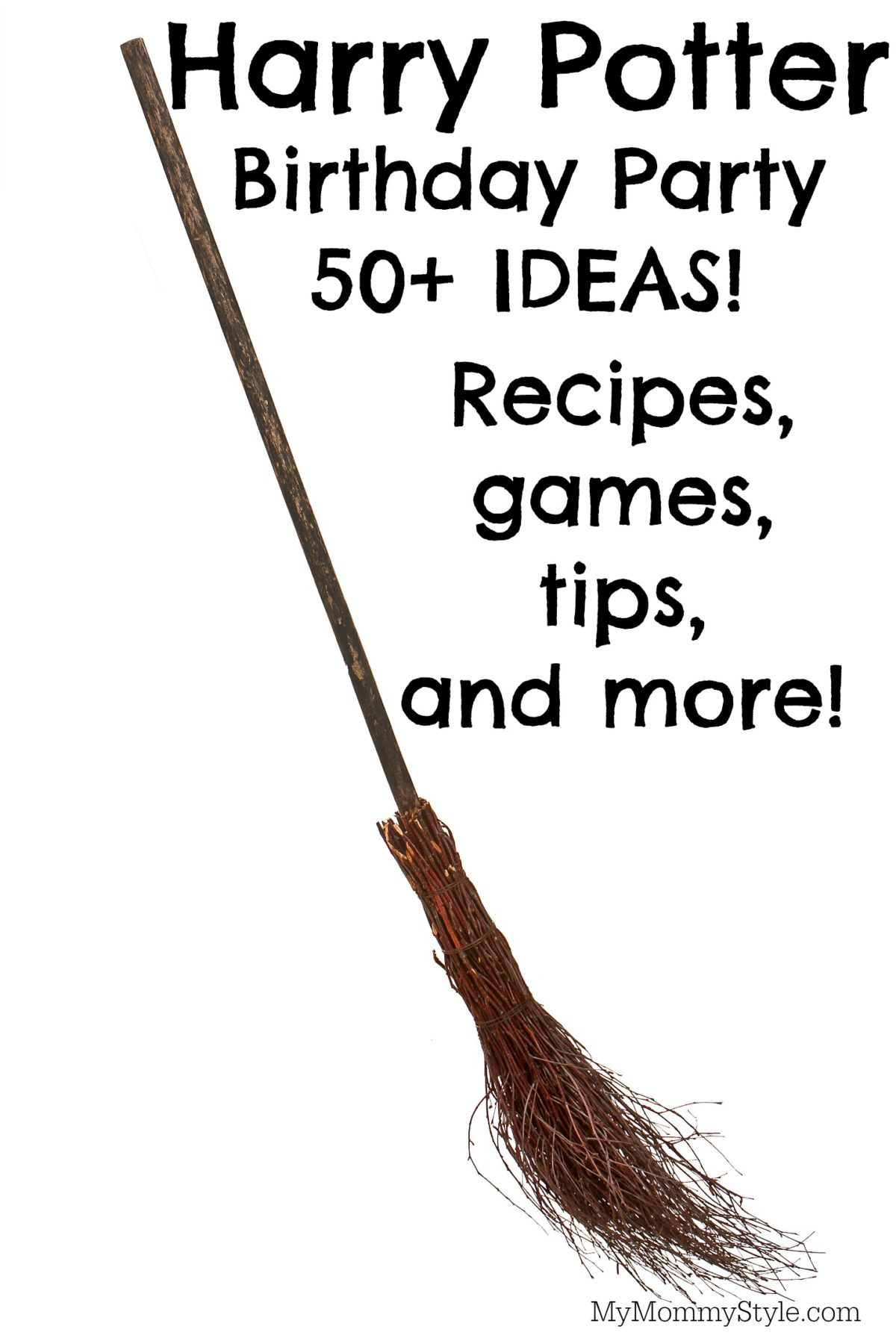 Planning a harry potter birthday party recipes tips and more my mommy style