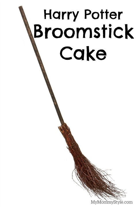broomstick cake, harry potter, harry potter party, harry potter birthday party, my mommystyle, the bakery lounge