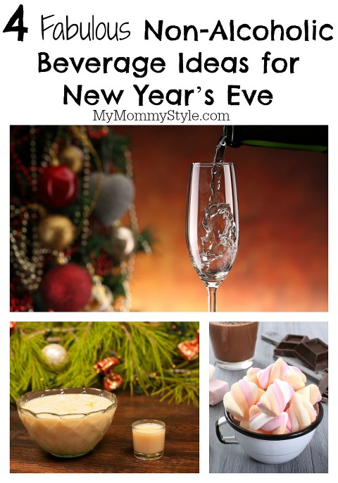 non-alcoholic drink ideas, new years eve