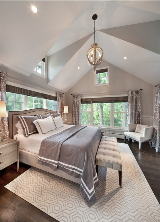 25 beautiful master bedroom ideas my mommy style for Grey and white bedroom designs