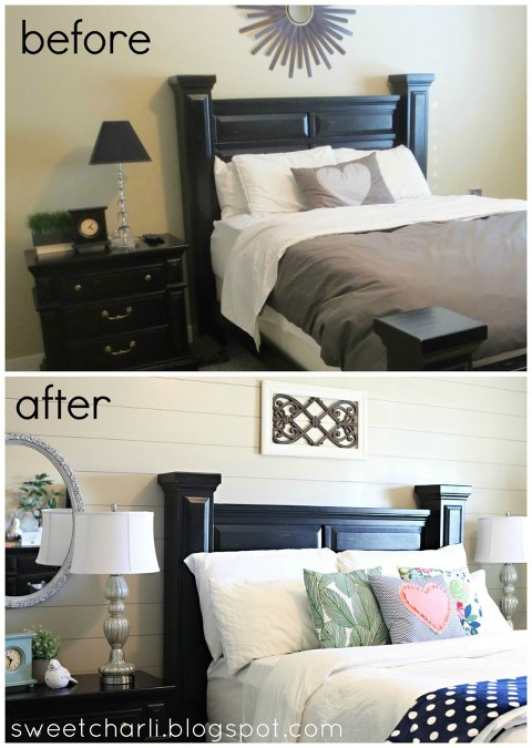 master bedroom sweet charlie before and after