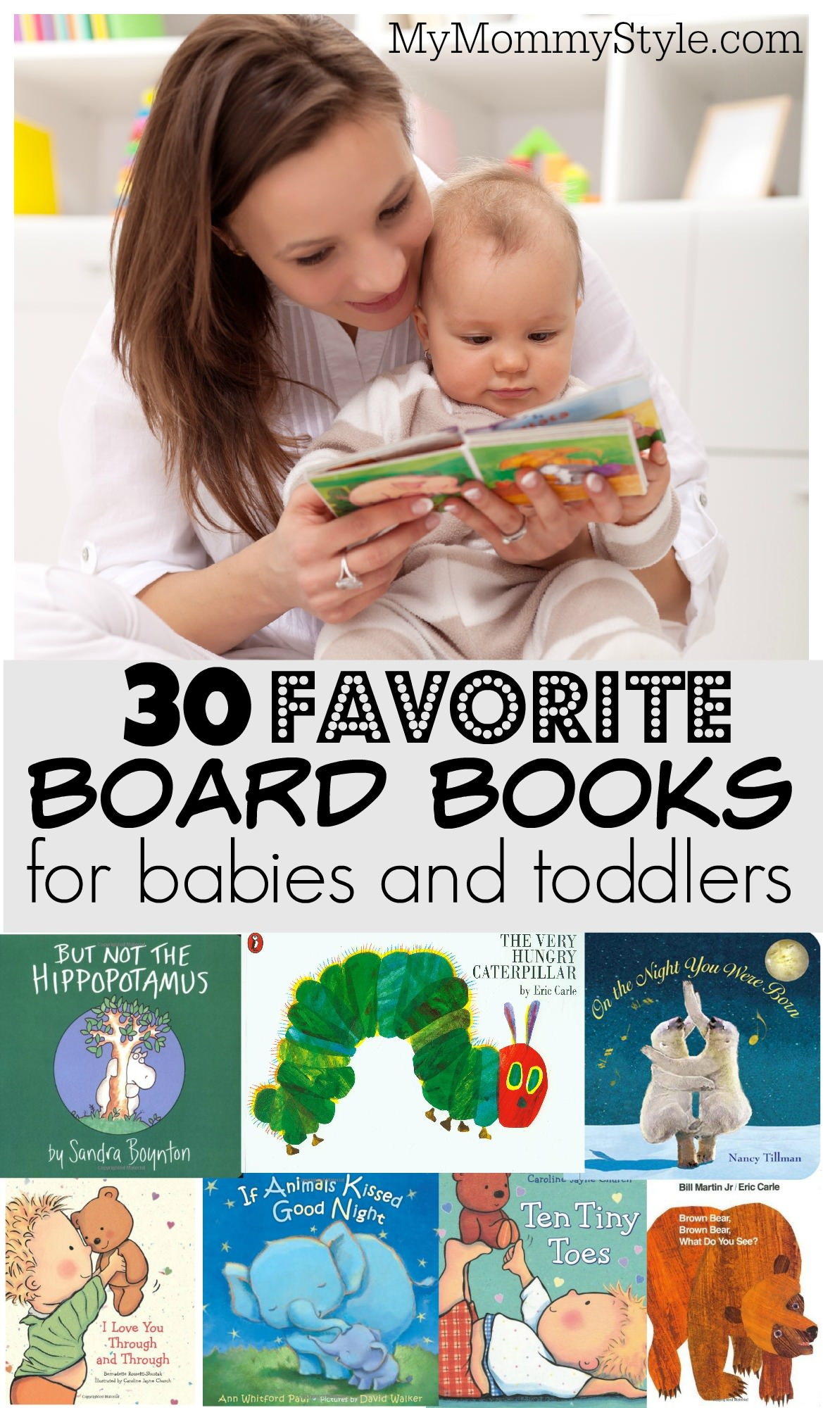 The 30 best board books for babies my mommy style