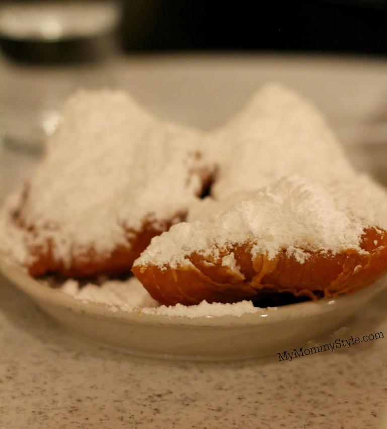 Beignets from cafe dumonde, NOLA, Beignets