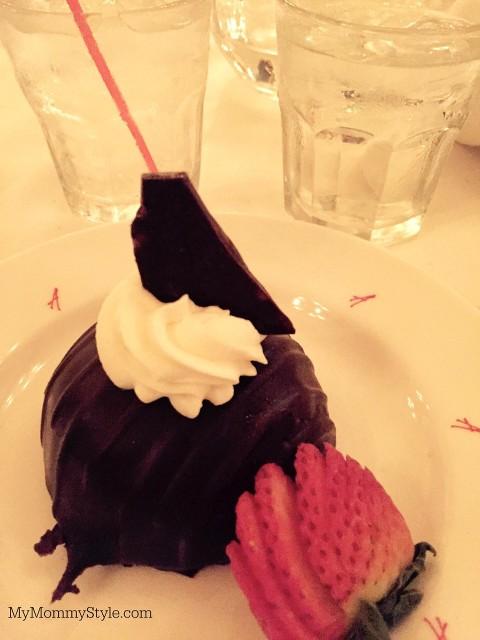 Chocolate Dessert from Arnaud's, NOLA