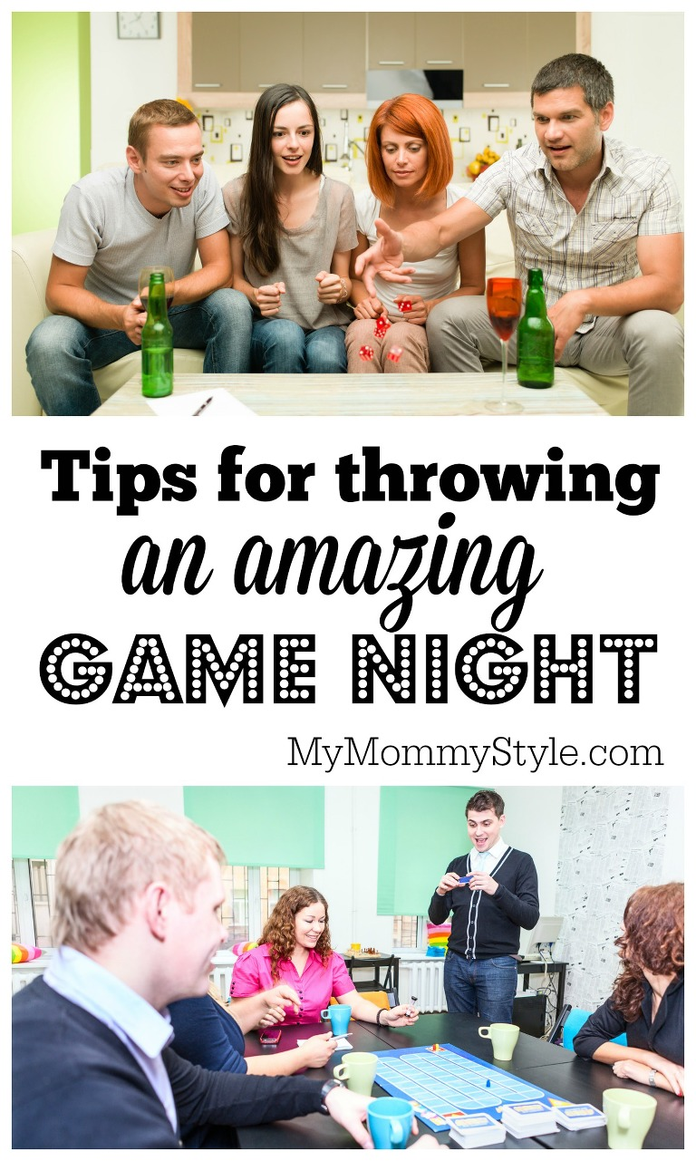Tips for throwing an amazing game night
