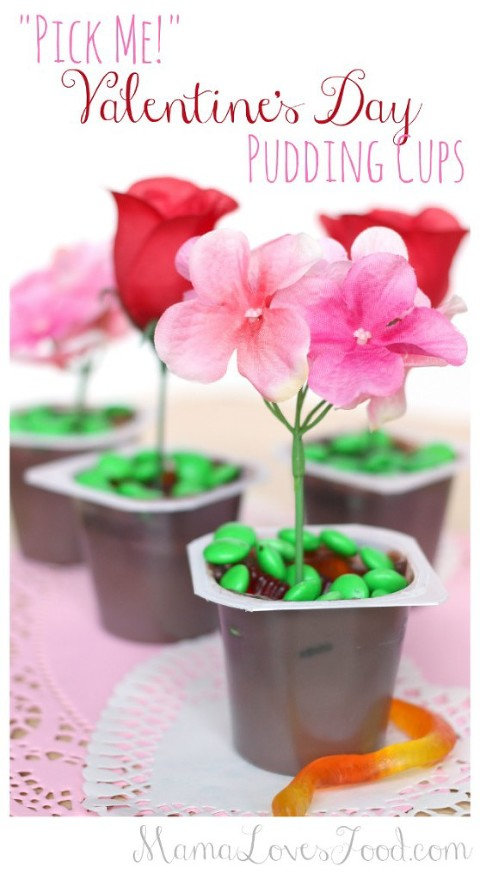 valentines day pudding cups