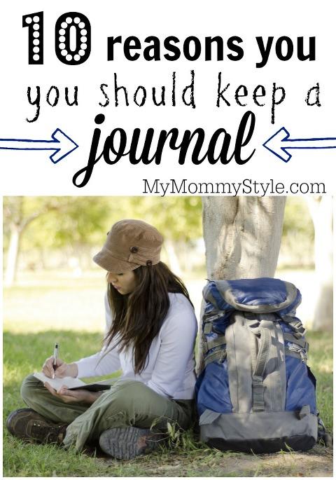 10 reasons you should keep a journal