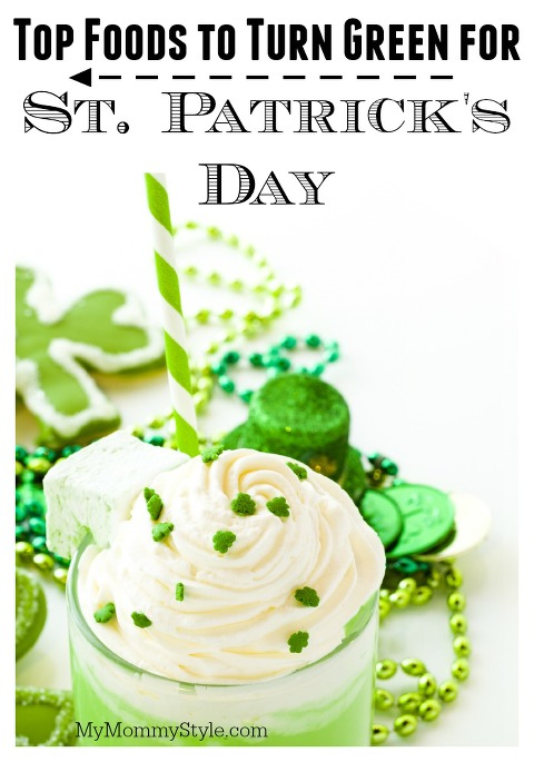 St. Patricks Day, Top foods to turn green, green food, st patrick's day, party, food, my mommy style