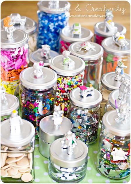 recycled craft jars