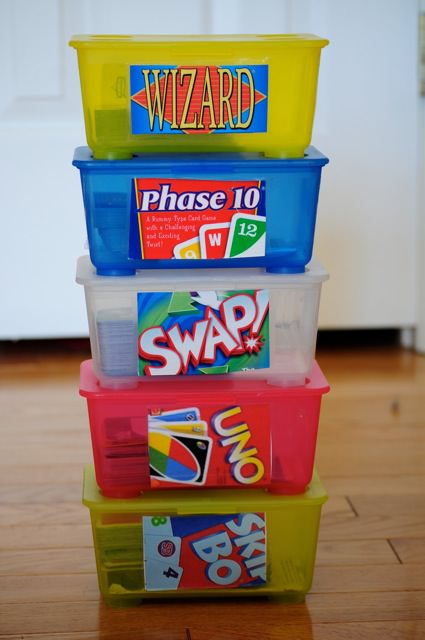 recycle baby wipes containers for games