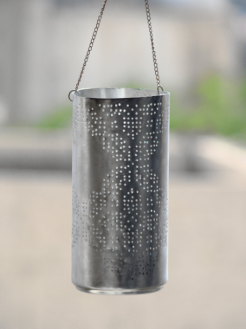 recycled pepsi can lantern