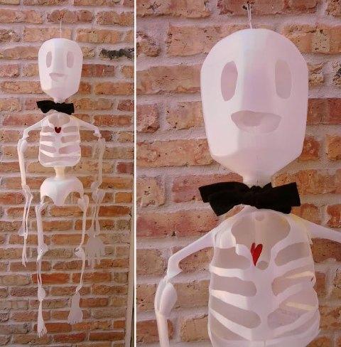recycled skeleton