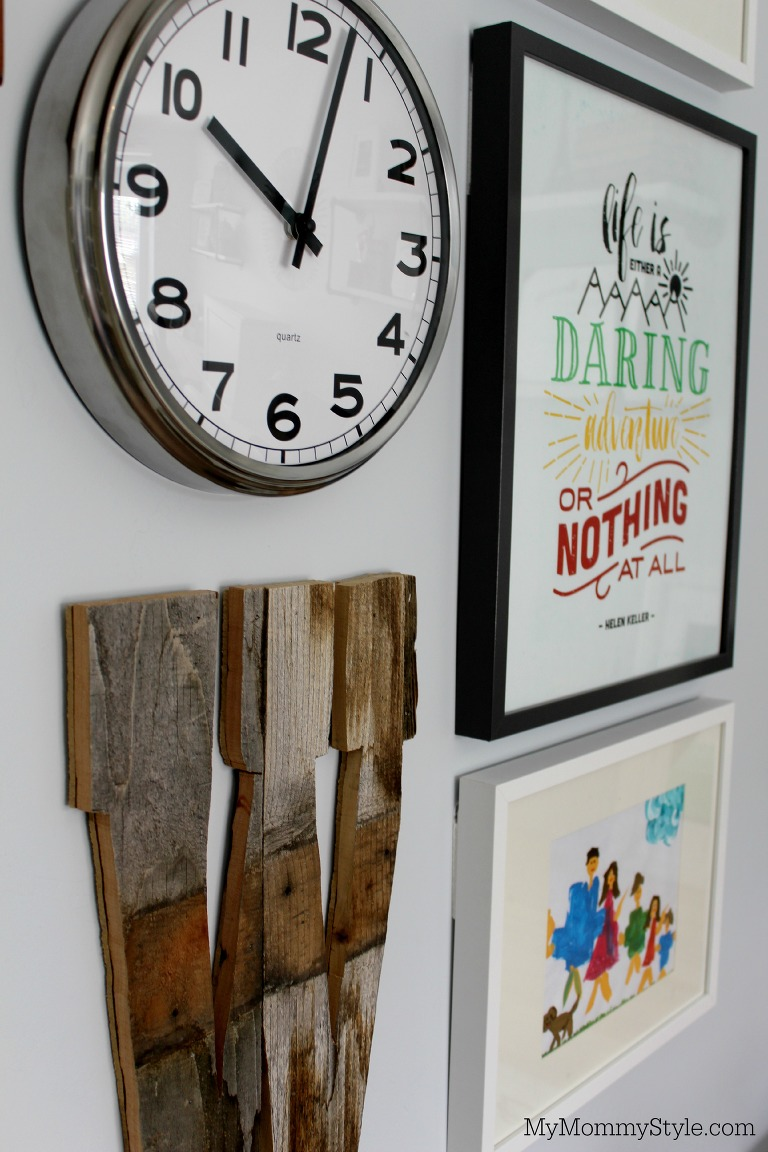 Wall art, modify ink, family office and guest room, IKEA, mymommystyle.com, Modifyink, family office, home office,