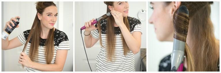 loose, wavy hair tutorial