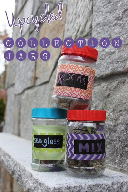 recycle collection jars