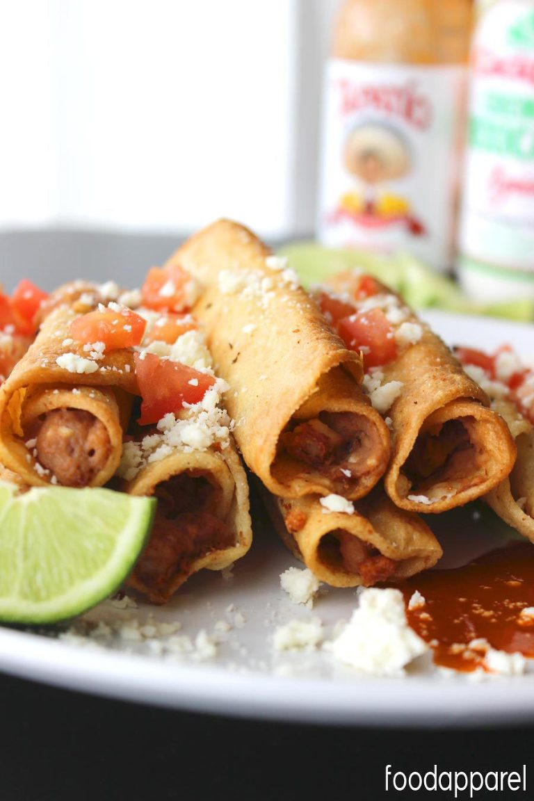 49 Mexican recipes easy bean taquitos