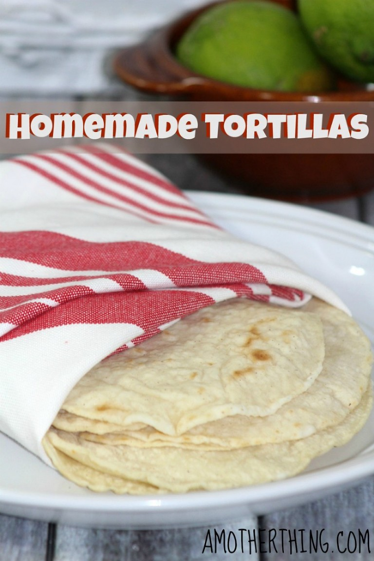 49 Mexican recipes homemade-tortillas-