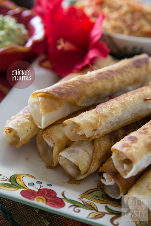 49 mexican recipes chicken-flautas-01