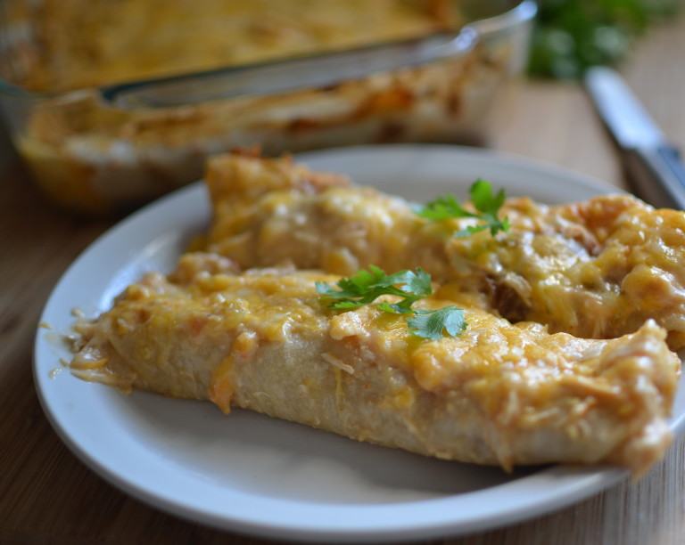49 mexican recipes creamy chicken enchiladas