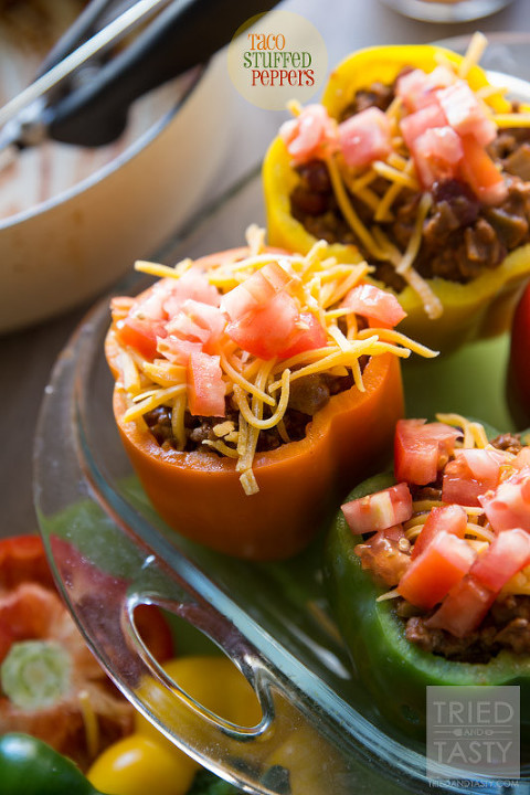 49 mexican recipes taco-stuffed-peppers-01