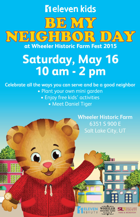 Daniel Tiger Neighbor Day - Event Invitation