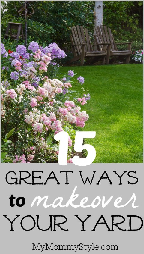 15 great ways to makeover your yard